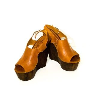 Sbicca Vintage Collection Boho Wedges | Size 8